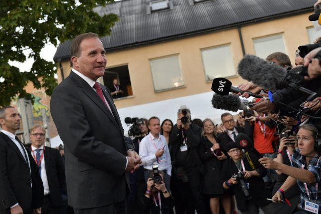 Sweden PM invites opposition to talks as far-right make election gains