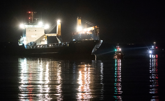 Jail for boozed-up Russian captain who ran ship aground in Sweden