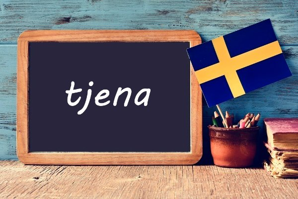 Swedish word of the day: tjena