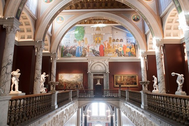 Take a look inside Sweden's newly renovated National Museum