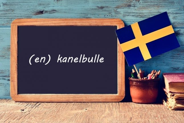 Swedish word of the day: kanelbulle