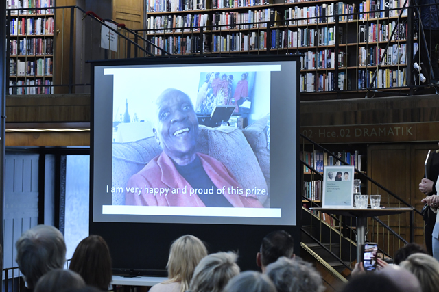 Guadeloupe author wins alternative prize in Nobel absence