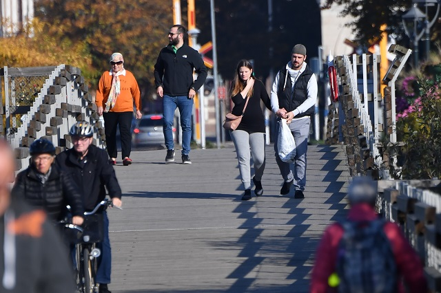 After a snowy weekend, mild weather on the way for Sweden