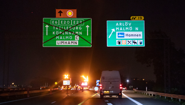 Drivers urged to stay at home as major motorway shuts for two weeks