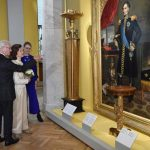 King Carl Gustaf and his wife Silvia in the re-opened museum. Photo: Henrik Montgomery/TT