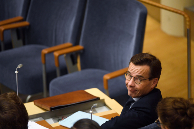 Swedish parliament rejects centre-right PM candidate Ulf Kristersson