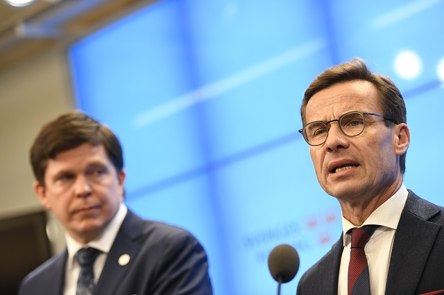 Centre-right PM candidate faces likely defeat in Swedish parliamentary vote