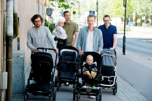 Will Swedish Dads to share child leave equally by mid 2030s?