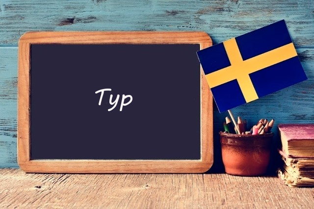 Word of the day: typ