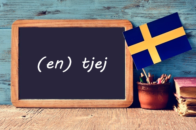 Swedish word of the day: tjej