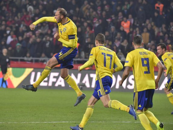 Sweden hold on to Nations League promotion hopes with Turkey win