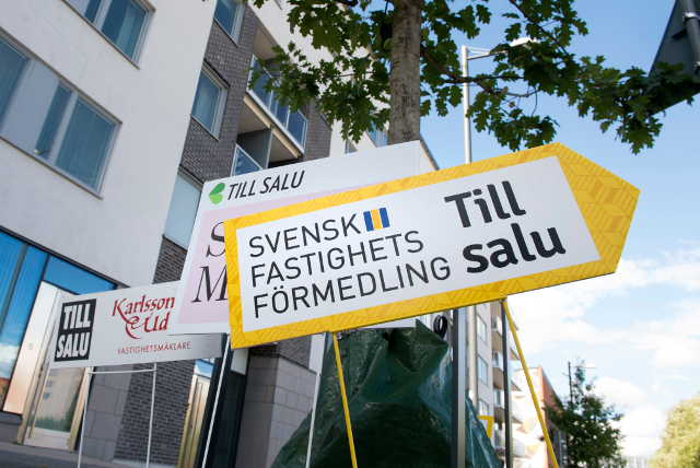 Buying an apartment in Sweden costs less than it did a year ago