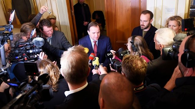 What's the next step in Sweden's government-forming process?