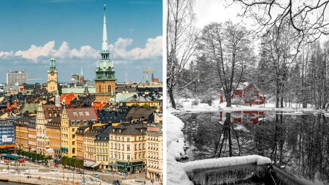 Your views: Where in Sweden would you rather live? City or countryside?