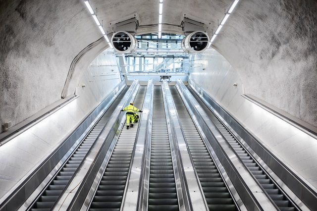 Why are so many of Stockholm's escalators broken?