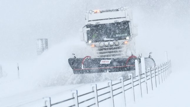 More snow to hit Sweden after temperatures drop to new record cold