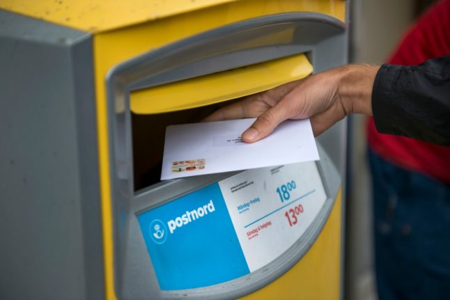 Sweden's Postnord could raise postage price after record losses