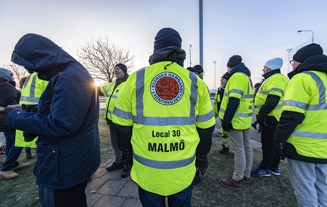 Why are strikes so rare in Sweden?