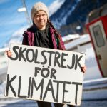 Swedish teen climate activist in Davos: 'It's time to get angry'