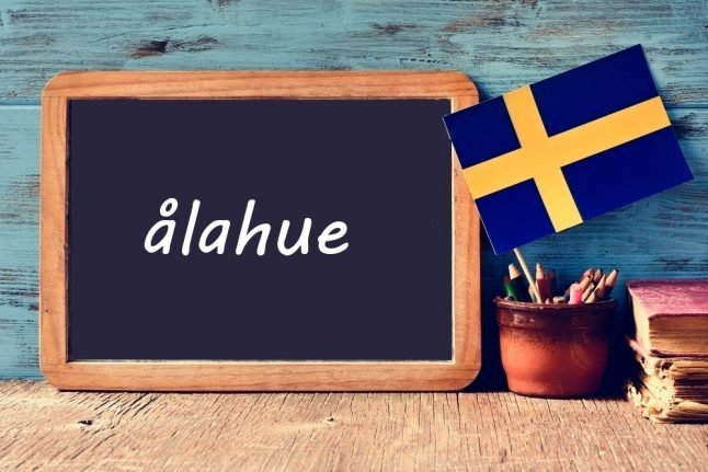 Swedish word of the day: ålahue