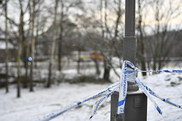How reported crime rates changed in Sweden in 2018
