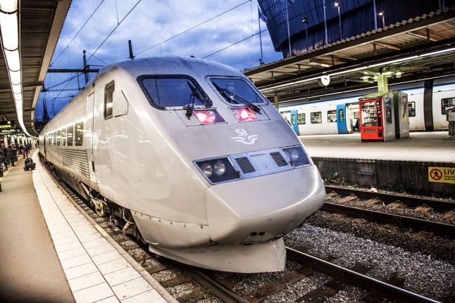 Sweden has Europe's 'most digital' trains