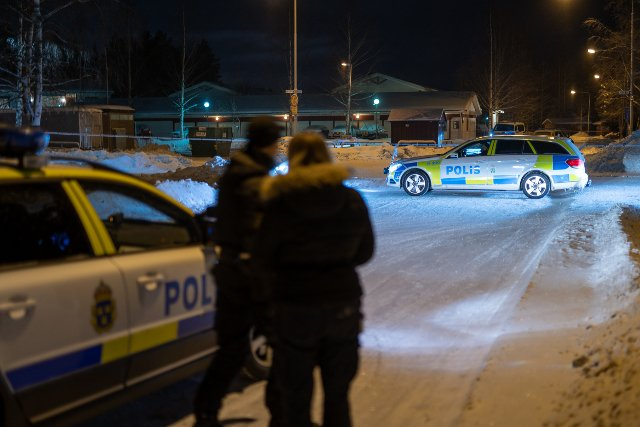 One dead and two injured after shooting in Umeå