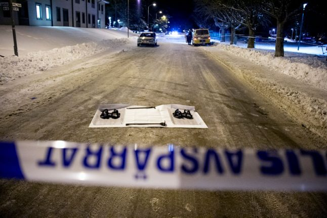 Friday night shooting leaves one dead, one injured in central Sweden