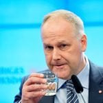 Sweden's Left Party leader would talk to Moderates in event of no confidence in new government