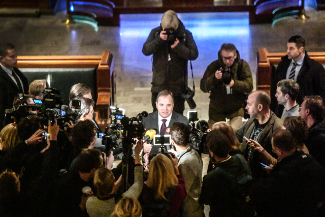 BLOG: Stefan Löfven set to be Swedish PM again after Left Party gives go-ahead