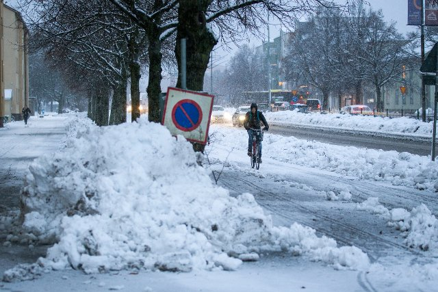Bundle up, Sweden! Weather office issues Friday snow warning