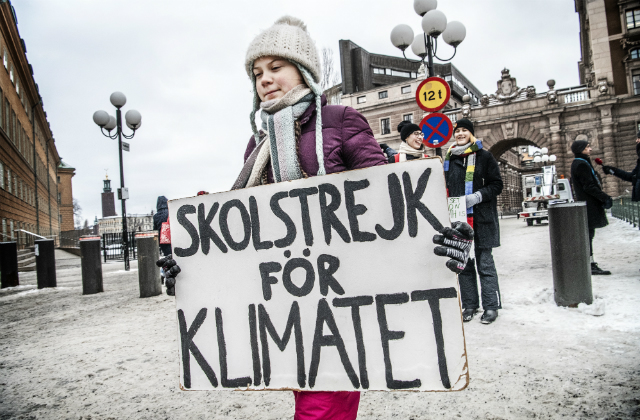 Swedish teen's worldwide strike for climate 'without precedent'