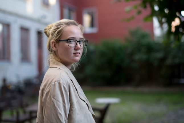 Swedish student to face trial after anti-deportation protest that stopped flight