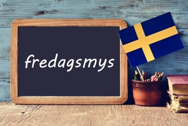 Swedish word of the day: fredagsmys