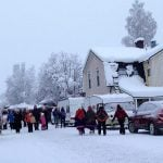 The small northern Swedish town of Jokkmokk has hosted the winter market of its indigenous Sami people every year since 1605. Photo: Florence C-Koch