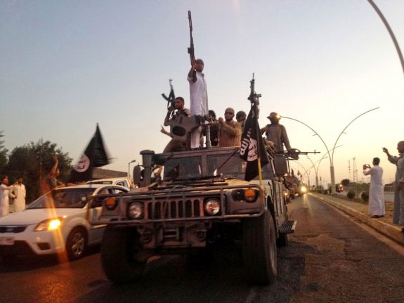 Sweden Democrats call on government to strip Isis fighters of citizenship