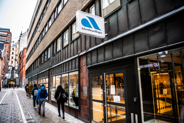Sweden is closing more than 100 job centres