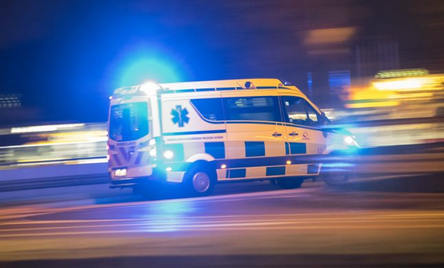 Swedish child escapes with minor injuries after falling five floors