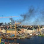 Traffic chaos expected after Stockholm bus fire