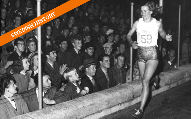 The Swedish farm girl who smashed records and gender barriers