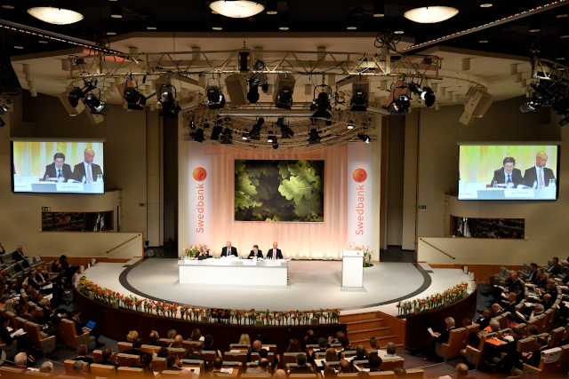 Swedbank halts trading and fires CEO on 'dramatic morning'