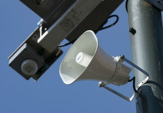 Malmö police to use loudspeakers to fight crime from a distance