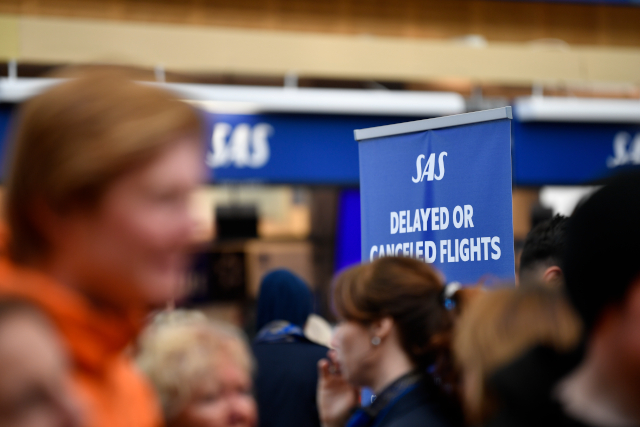 AIRLINE STRIKE: Hundreds of flights grounded as SAS pilots walk out