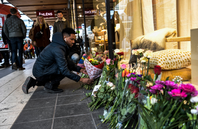 Stockholm quietly remembers victims of terror attack