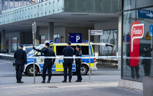 Findus offices in Malmö evacuated after 'white powder' attack
