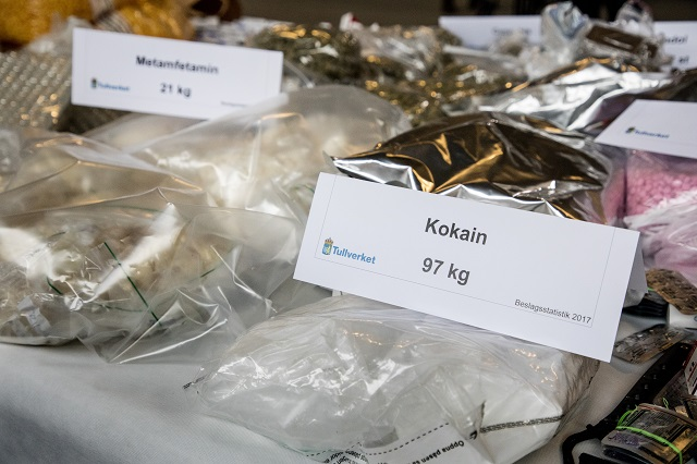 Cocaine use in Sweden at 'record levels': investigation