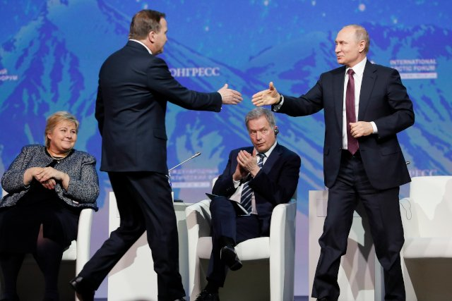 Here's what Stefan Löfven and Vladimir Putin talked about in their first one-on-one meeting