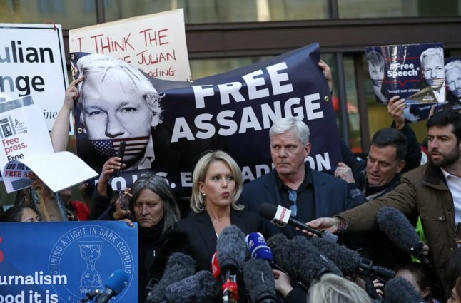 British MPs urge cooperation with Sweden in Assange case
