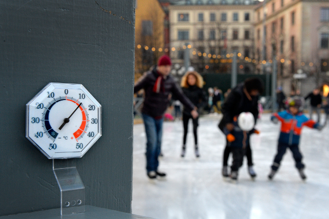 Sweden's temperature is rising more than TWICE as fast as the global average