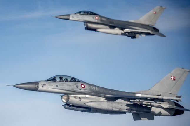 Denmark encroaches on Sweden's airspace more often than Russia